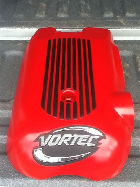 Painting throttle body cover