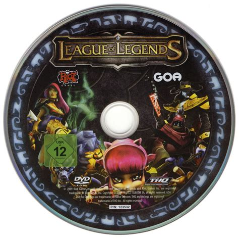 League of Legends (Collector's Pack) (2009) Windows box