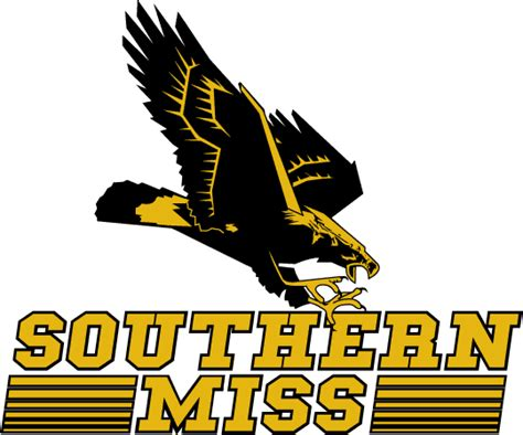 Southern Miss Golden Eagles Primary Logo - NCAA Division I
