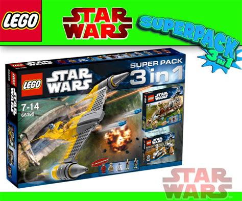 LEGO STAR WARS 7877 7929 7913 in Superpack 66396 Naboo