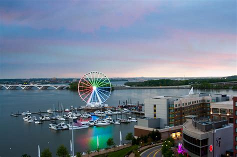The Capital Wheel - Things to do at National Harbor