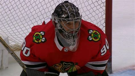 36-year-old rec league goalie Scott Foster plays for