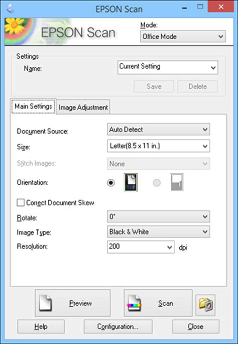 Starting a Scan Using the Epson Scan Icon