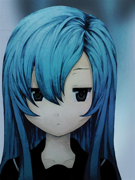 Blue Haired Anime Characters - Anime - Fanpop   Page 4