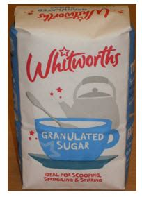Recall of Further Batches of Whitworths Granulated Sugar