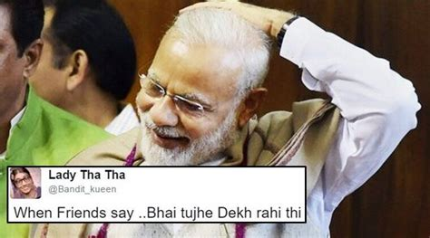 This photo of PM Modi has led to a hilarious caption