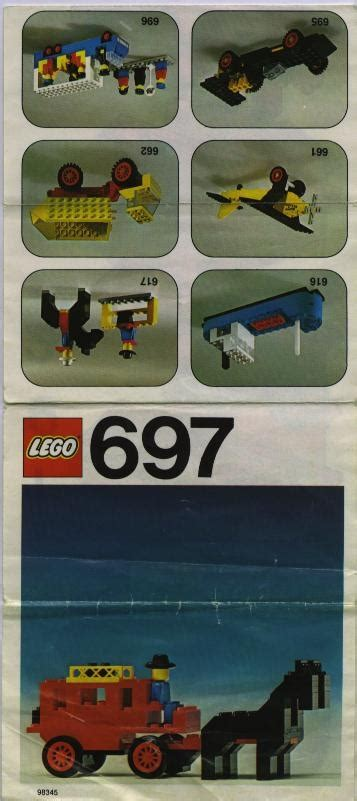 697 Stagecoach - LEGO instructions and catalogs library