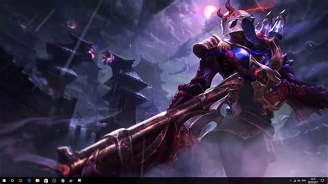Blood Moon Jhin Background (Wallpaper Engine) - YouTube