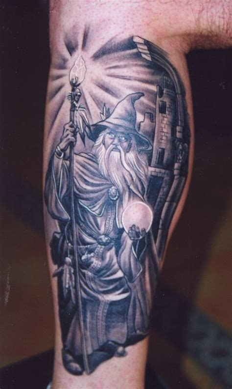 Wizard Tattoos Designs, Ideas and Meaning | Tattoos For You