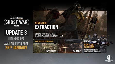 Ghost Recon Wildlands: Extended Ops - PvP Update 3; Patch
