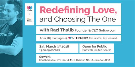 Redefine Love and Choose The Right One - Tickets
