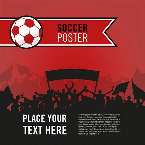 FREE 15+ Vector Sports Poster Designs in PSD   Vector EPS   AI