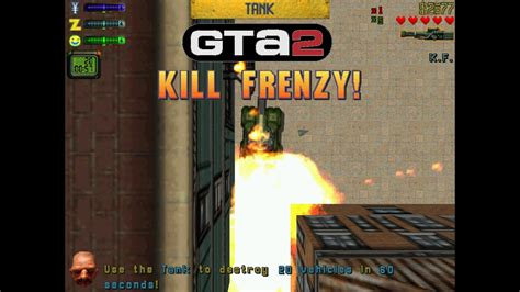 Grand Theft Auto 2 Walkthrough: Kill Frenzy/Rampages Part