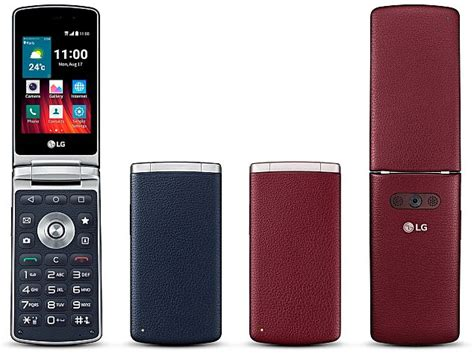 LG Wine Smart Flip Phone With Android 5