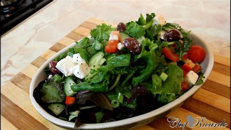 Feta Cheese Salad Recipe Easy To Make | Recipes By Chef