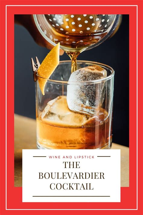 The Boulevardier Cocktail {A Classy Drink Recipe}