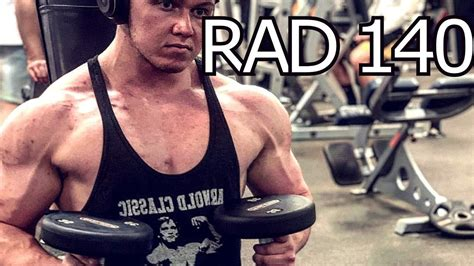 My Experience/Side Effects With Rad 140 | Sarms - YouTube