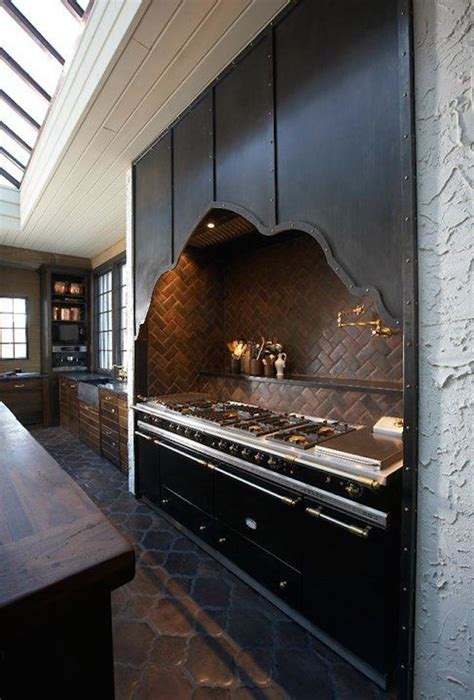 23 Classy Gothic Kitchen And Dining Room Designs