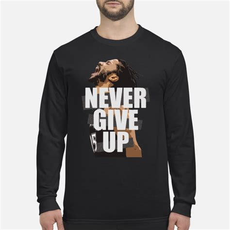 Official Mohamed Salah Never Give Up FC Liverpool shirt
