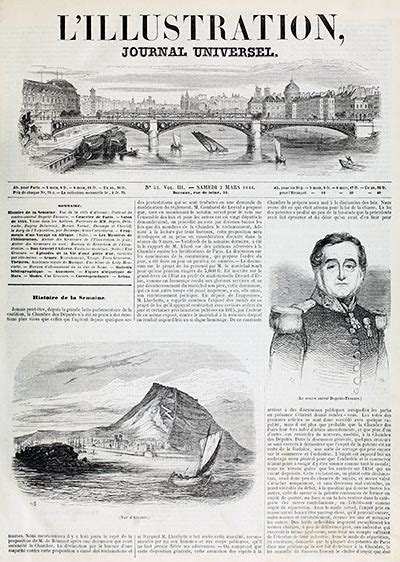 L'Illustration, a Weekly Newspaper – Old Book Illustrations