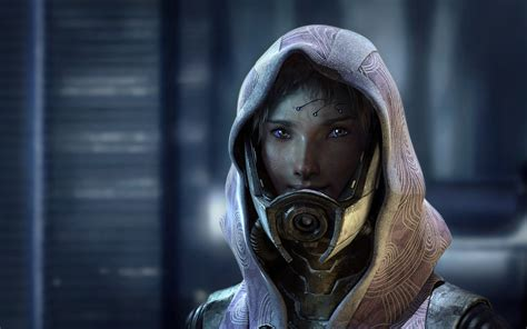 Tali's Face - taken from stock image