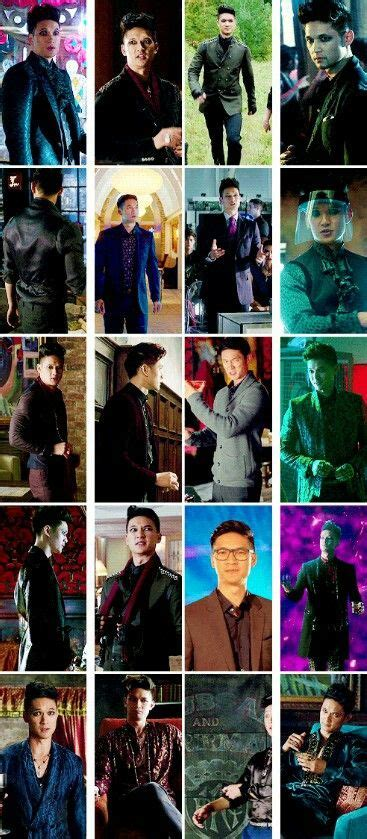 Magnus Bane s1 outfits   Shadow hunters, Bane costume