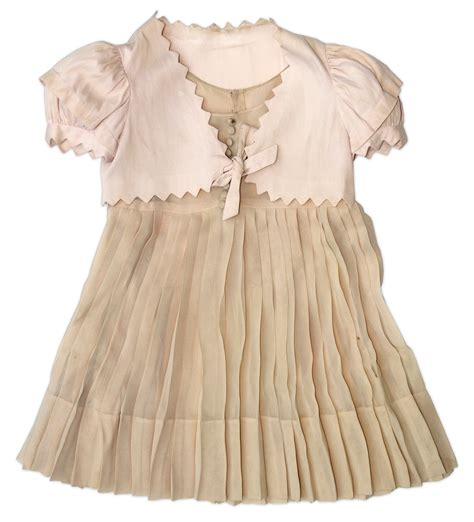Lot Detail - Shirley Temple Dress & Jacket Worn to the
