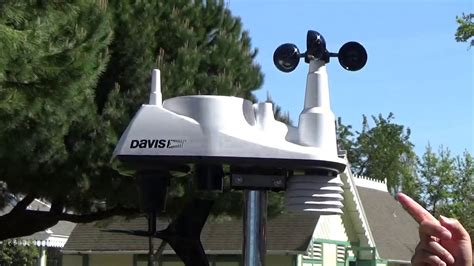 Davis Vantage Vue: Overview from Box to Setup - YouTube