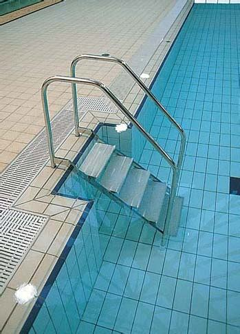 DISABLED PERSONS POOL ACCESS LADDERS - Access Ladders - J