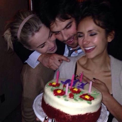 Nina celebrates her Birthday with bff Julianne Hough and