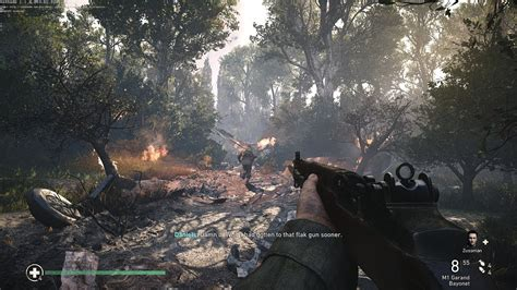 CoD: WWII Realistic Graphics Gameplay (SweetFX) - YouTube