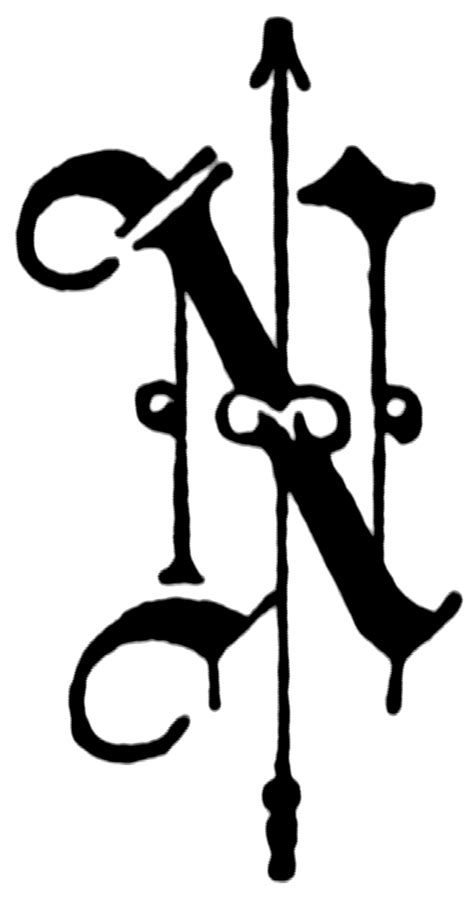 N, Old English fancy text | ClipArt ETC