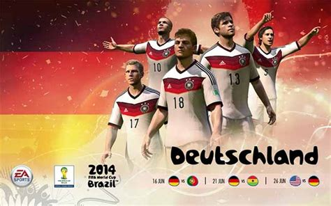 Official EA Sports 2014 FIFA World Cup National Teams
