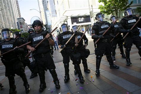 Live updates from May Day in Seattle: Anti-capitalist