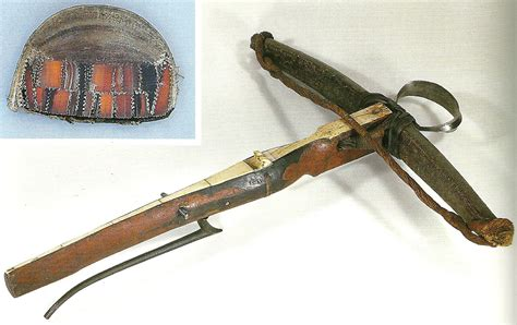 Crossbow: Medieval, renascence crossbows and spanning