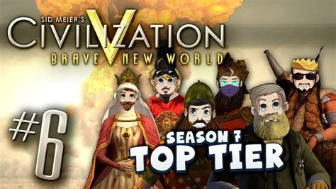 Civ 5 Top Tier #6 - Missionised - YouTube