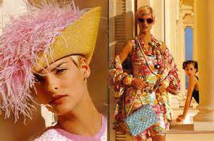 Chanel Spring/Summer 19991 Campaign by Karl Lagerfeld