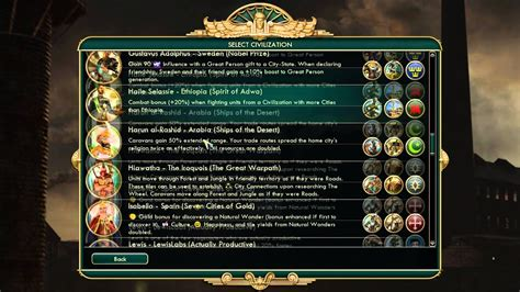 Civ 5 Yogscast Mod Character Overview - YouTube