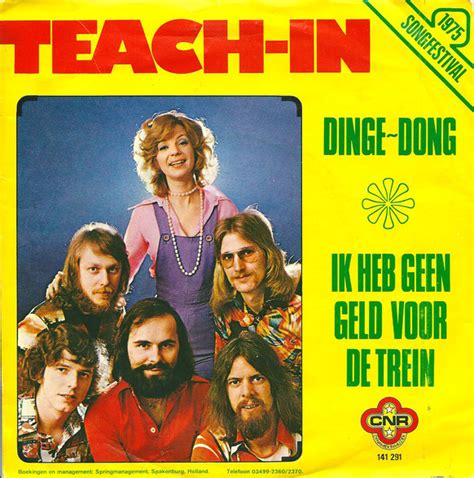 Teach-In - 'Dinge dong'   Translation Dutch song, songtext