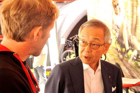 Hoher Besuch am Tag drei: Yozo Shimano bei HASE BIKES
