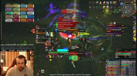 The UI of Sco, GM and main tank of the world's #1 guild