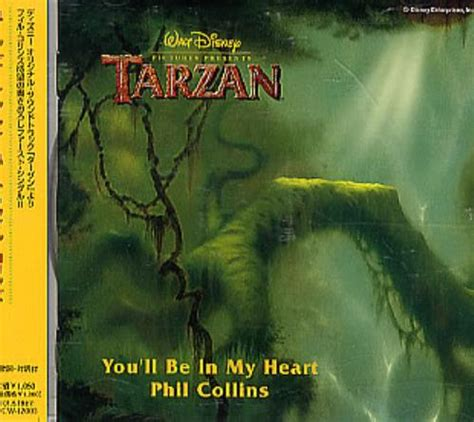 Phil Collins You'll Be In My Heart Japanese Promo CD