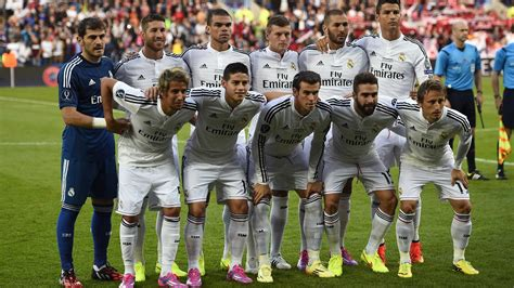 Real Madrid name most expensive starting XI in football