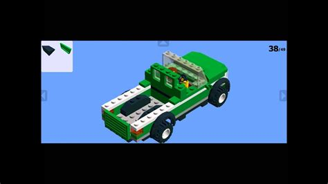 How to build a Lego Pickup Truck - YouTube