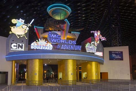 Pictures: Dubai's IMG Worlds of Adventure theme park