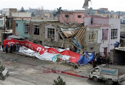 Suicide car bomber hits Afghan capital, at least one dead