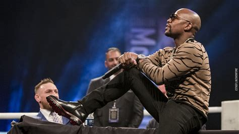 Floyd Mayweather: It's obvious I'm getting in Conor
