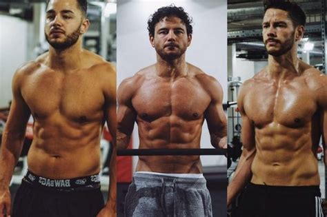 Check out how buff the Thomas brothers look after a gym