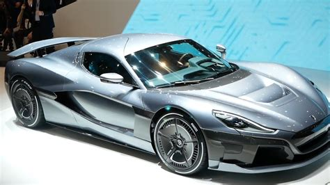 Rimac Concept Two (C_Two) angesehen (Genf 2018) - Video
