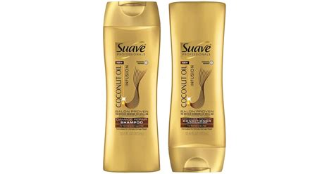 Suave Professionals Coconut Infusion Shampoo and